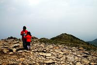 湯ノ丸山 山頂にて